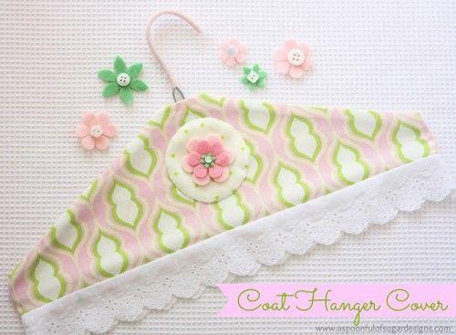 Kendin Yap Kıyafet Askıları- DIY Clothes Hangers