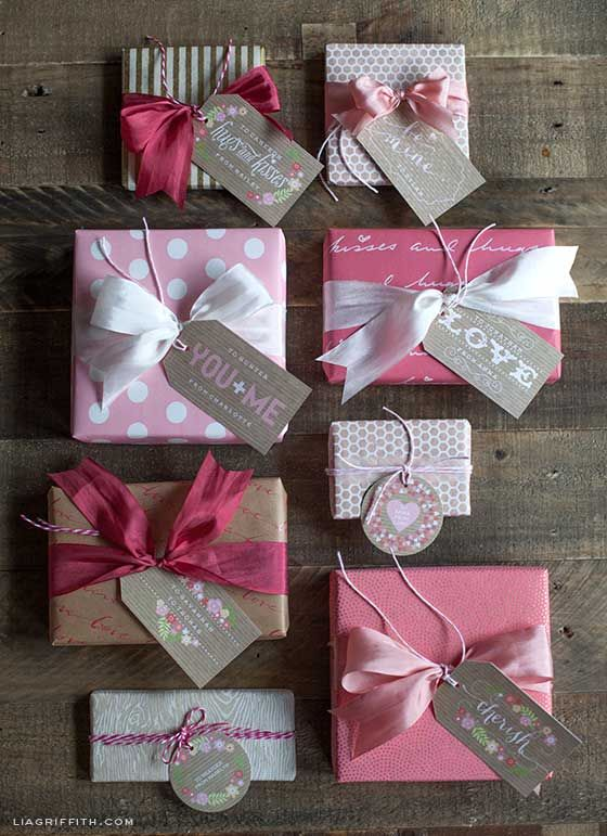 Sevgililer Günü için Hediye Paketleme - Gift Wrapping for Valentine's Day