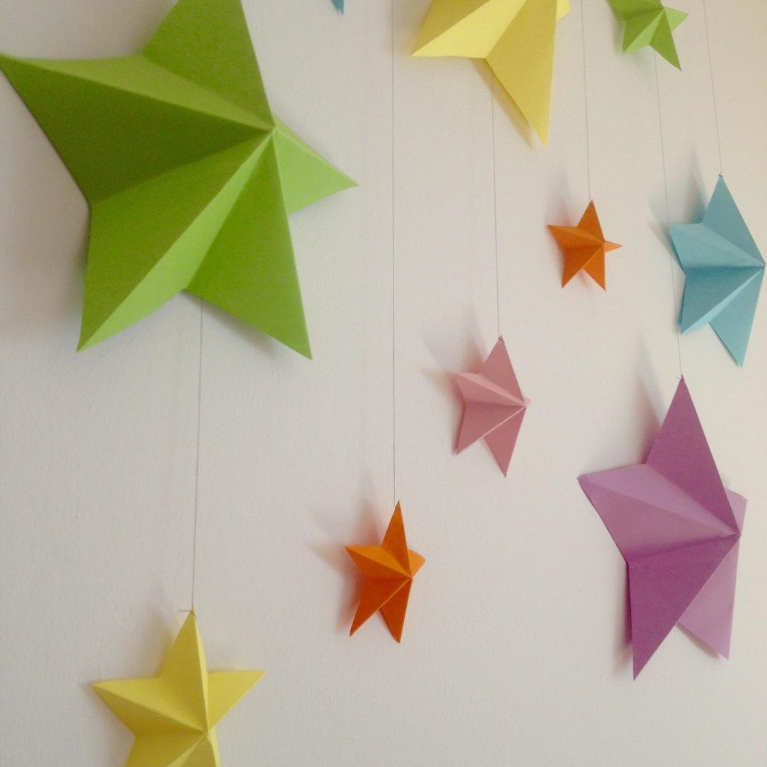 Origami Yıldızlar / Origami Stars