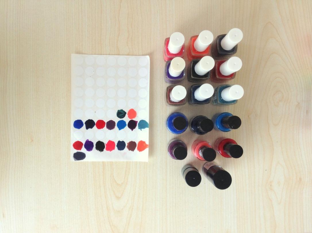 Oje Etiketleri / Nail Polish Stickers