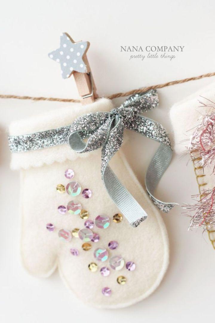 El yapımı Keçe Süsler /Handmade Felt Ornaments