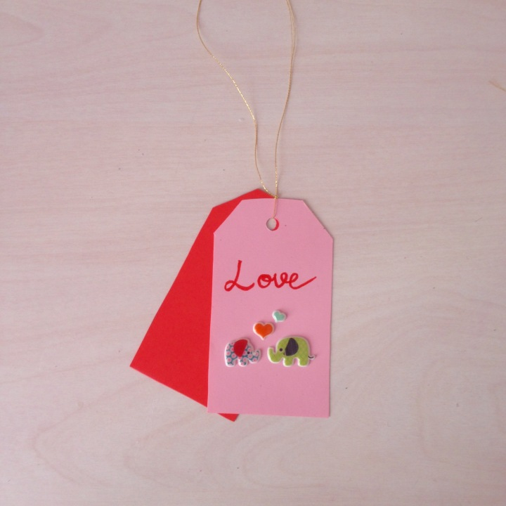 Sevgililer Günü için Hediye Etiketi / Gift Tags for Valentine's Day