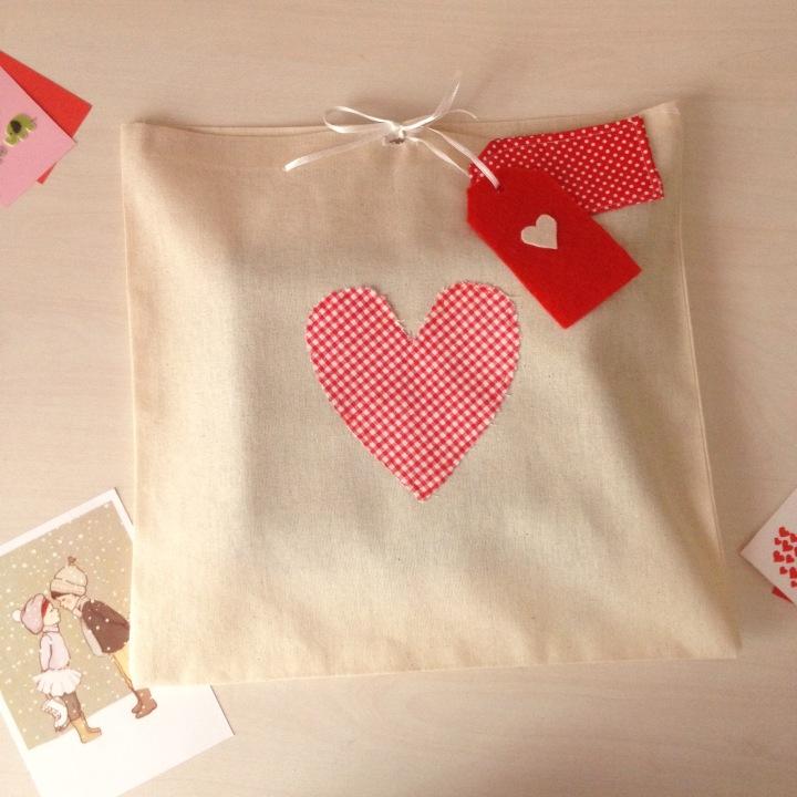 Sevgililer Günü Hediye Paketim / My gift wrapping for Valentine's Day