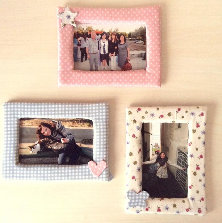 El Yapımı Kumaş Çerçeveler / Handmade Fabric Frames