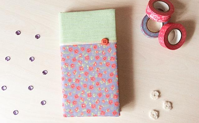 Kumaşla Defter Kaplama / Notebook covering with Fabric